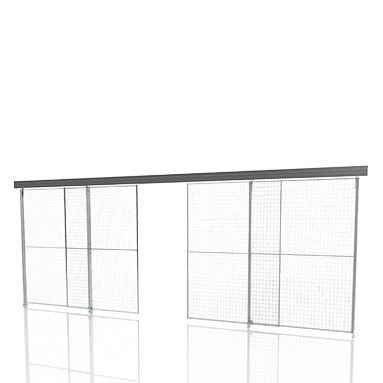 X Store Sliding door with centre lock thumbnail