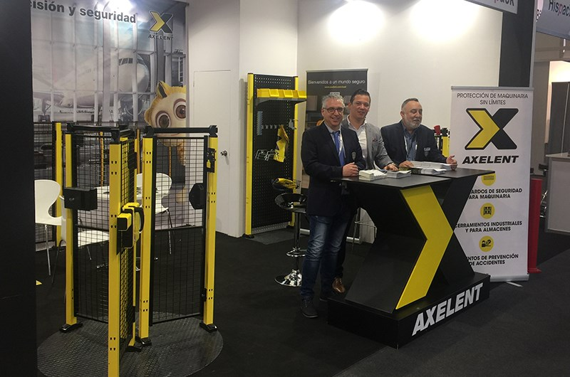 Axelent Spain at Hispack